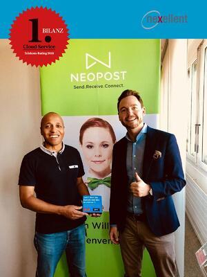 Neopost setzt auf die Nummer 1 im schweizer cloud business